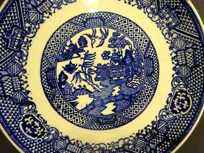 BLUE WILLOW 1 7 SALAD PLATE ROYAL CHINA-R - $12.99