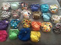 Reusable nappy collection