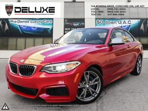 2015 BMW M235i xDrive M235 AWD Navigation Red on Black $0 Dow...