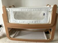 SnuzPod² Bedside Crib and Mattress for sale