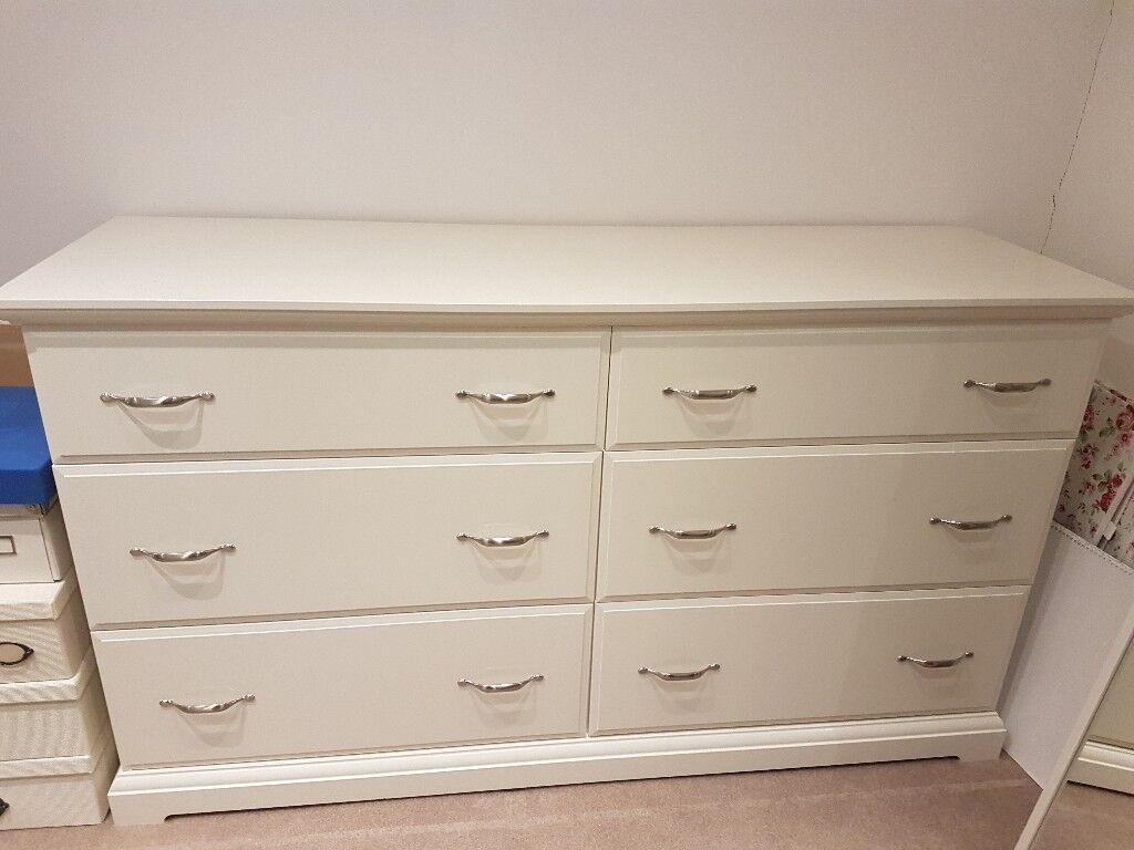 ikea birkeland chest of 6 drawers white in stoke bishop bristol gumtree. Black Bedroom Furniture Sets. Home Design Ideas