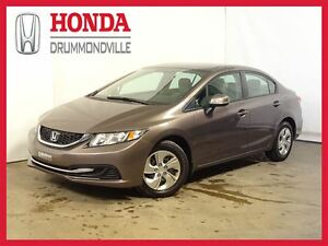 2013 Honda Civic LX +  BLUETOOTH +  REG. VITESSE +  A/C