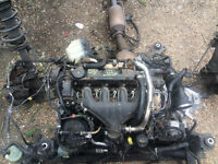 ford galaxy 59 reg 2.0 diesel power shift auto engine and gearbox breaking for spares and parts call