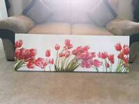 Large tulip box canvas