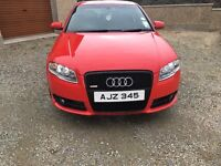 AUDI A4 2.0 TDI (170bhp) Special Black Edition in brilliant red *STUNNING* example