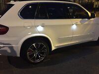 X5 MSport, white rap 7seats