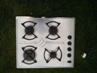 **WHIRLPOOL**STAINLESS STEEL**GAS HOB**COLLECTION\DELIVERY**MORE AVAILABLE** NO OFFERS**