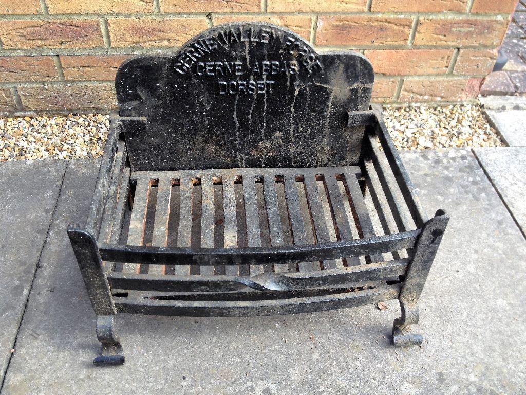 Locally Made Cerne Abbas Forge Dorset Fire Basket Grate