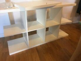 As new KALLAX shelving unit (8 compartments)