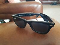 Mens Wayfarer Ray Ban sunglasses