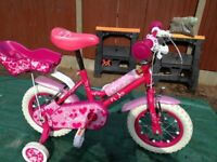 Seldom used Girls Bicycle