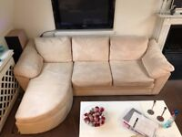 2 3pers Sofas with chaiselong