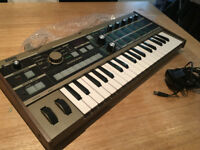Korg Microkorg 37 Key Synthesizer With Vocoder - In perfect condition; amazing pad and synth sounds!