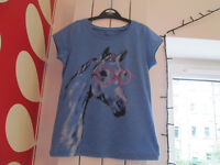 GIRLS TOPS - FROM NEXT / H&M - AGE 7 YEARS - £1.50 EACH