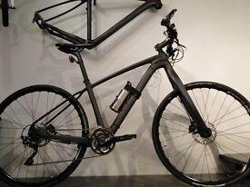 Carbon fibre Sensory Electric Bike. Only 12kg with patented terrain sensing