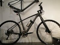 Carbon fibre Sensory Electric Bike. Only 12kg with patented terrain sensing