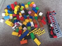 Bundle of lego Duplo with Fire Engine