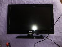 Small, flat screen TV (21inches) hardly used, excellent condition.