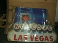 Cutout Las Vegas Sign