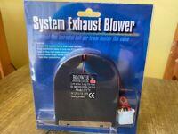 Retro Vintage System Exhaust blower fan 12V 0.15A 1.8W