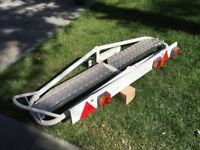 Motorhome motorbike rack as New condition