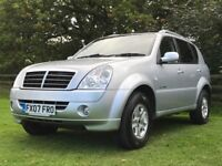 2007 Ssangyong Rexton 2.7 Turbo Diesel Auto