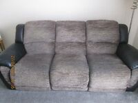 SOFA (3 SEATER) ELECTRIC RECLINING SEATS AND CHAIR ELECTRIC RECLINING