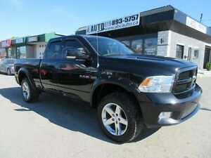 2009 Dodge Ram 1500 Sport (5.7 Hemi, 4x4, Nav, Lift Kit)
