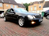 MERCEDES E220 CDI SPECIAL EDITION EXCUTIVE AUTOMATIC 4 DOOR SALOON FSH HPI CLEAR MINT CONDITION