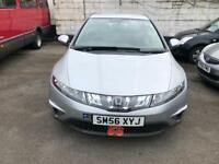 Honda Civic 1.4 Petrol long lot jan 2018 2 keys full history wry economic car low mileage 48k