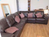 Leather Corner Sofa