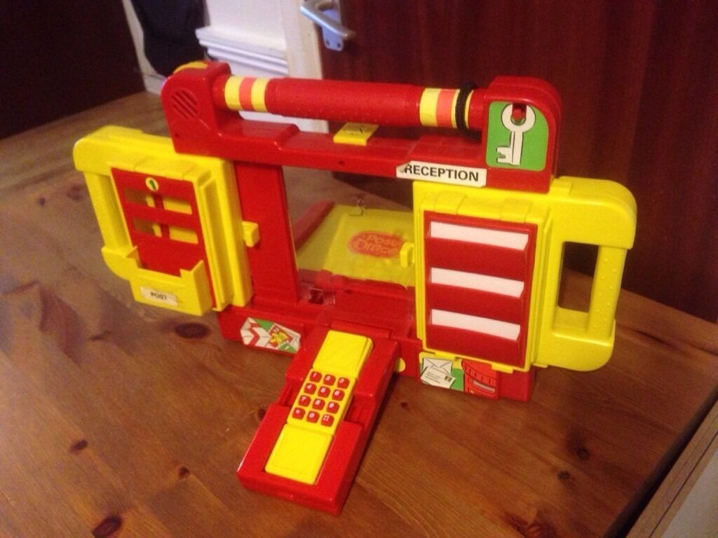 Fold Away Post Office Playset Toy In Dowlais Merthyr Tydfil