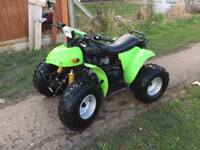 100cc quad bike like New in very good condition £480 or swaps