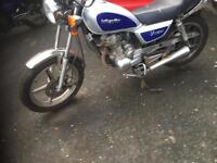 Lexmoto vixen 125 motorbike cg cbf