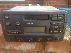 Radio cassette player ford