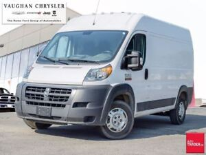 2017 Ram Promaster 1 Owner* High Roof * 136 WheelBase