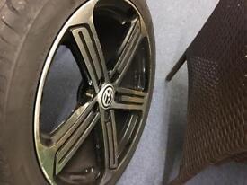 18 inch golf R alloys