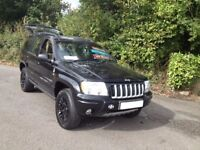 STUNNING LOOKING HI SPEC GRAND CHEROKEE CRD LTD EDITION/LOCAL CAR/IDEAL SIZE 4WD/landrover discovery