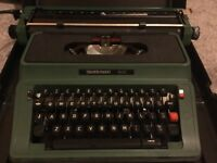 Antique Typewriter (probably 70's) *Mint Condition)