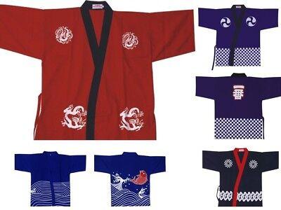 Sushi Koch Kostüme (Herren Damen Japanische Koch Jacken Kittel Kimono Sushi Restaurant bar Kostüm)