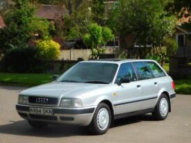 2 OWNERS AUDI 80 2.0 E ESTATE ++ LOW MILES 60K FULL SERVICE HISTORY