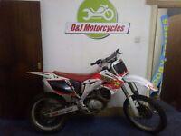 Honda crf450 200cc 2007
