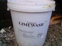 Buttermilk limewash