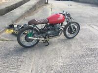 Moto guzzi v50 cafe racer project
