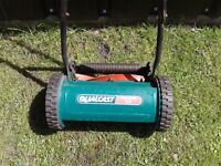 QUALCAST PANTHER 30 MOWER PUSH ALONG GREAT FOR ALLOTMENT CARAVAN PARK NO BOX CUTS WELL