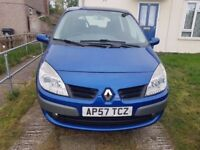 RENAULT SCENIC MK2 2007 1.6 VVT AUTOMATIC (NEW FACE)