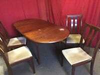 DINING TABLE WITH 4 CHAIRS,DELIVERY AVAILABLE