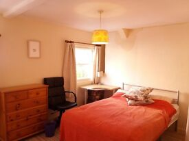 Room for let in nice apartment in the center of Totnes.
