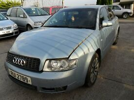audi a4 1.9 tdi se 2004 light blue damage repairable