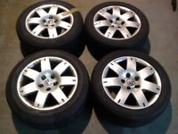 ★ 16 INCH VW PASSAT ALLOYS 5 STUD ★ 205/55/R16 ★
